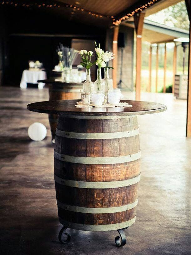 Discover ideas about Whiskey Barrel Wedding Pedestal
