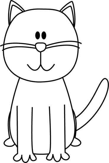 white cat clip art black and white cat black and white cat that rh in pinterest com black and white cat face clipart black and white cat and dog clipart