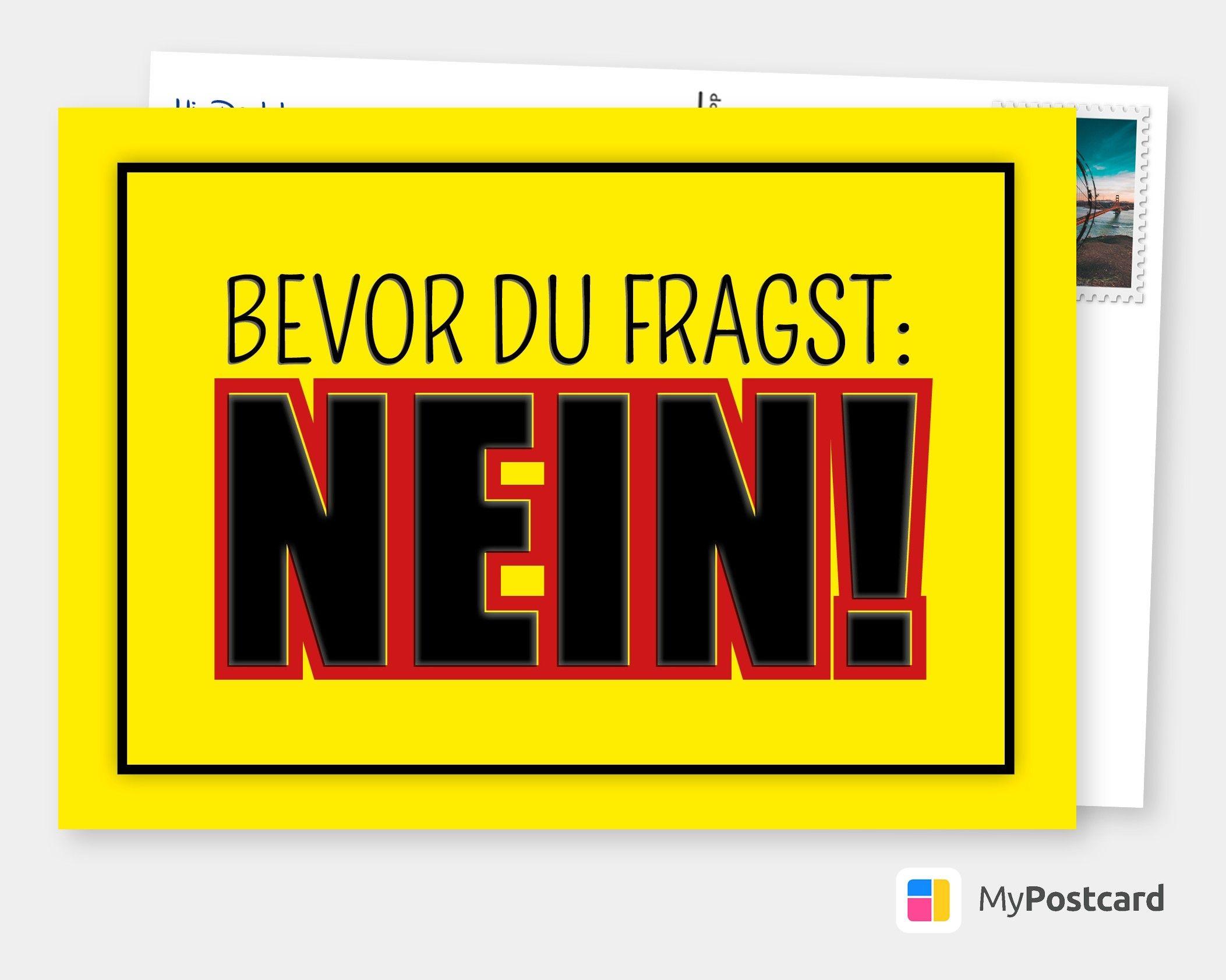 Postkarte Glückwunschkarte Scherzkarte mit lustigen Sprüchen