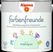 Grün - Alpina Farben in 2020 | Kinderzimmer farbe ...