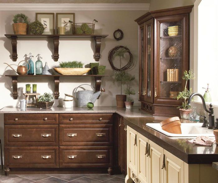 Kitchen Craft Cabinets Quality: Maple Cabinets In Potting Room By Kitchen Craft Cabinetry