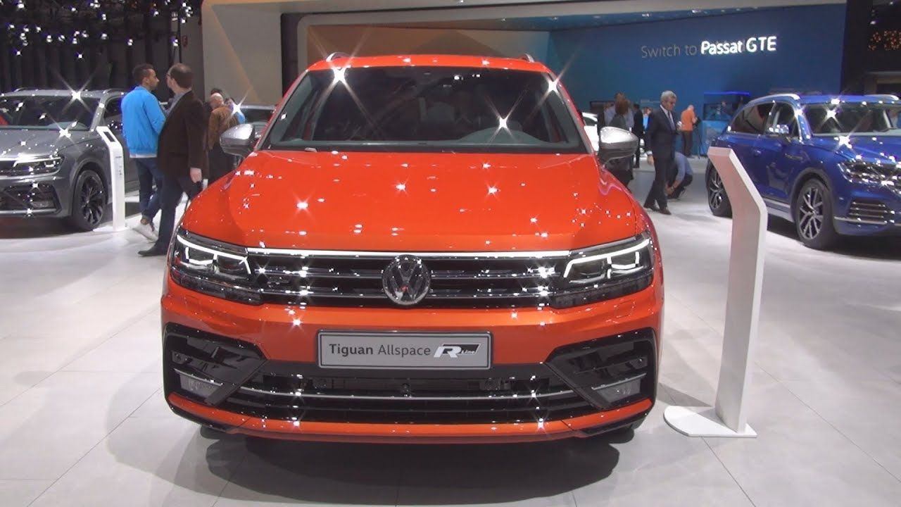 Volkswagen Tiguan Allspace Swissline R Line 2 0 Tdi 7 Dsg 2019 Exterior And Interior Volkswagen Tdi Geneva Motor Show