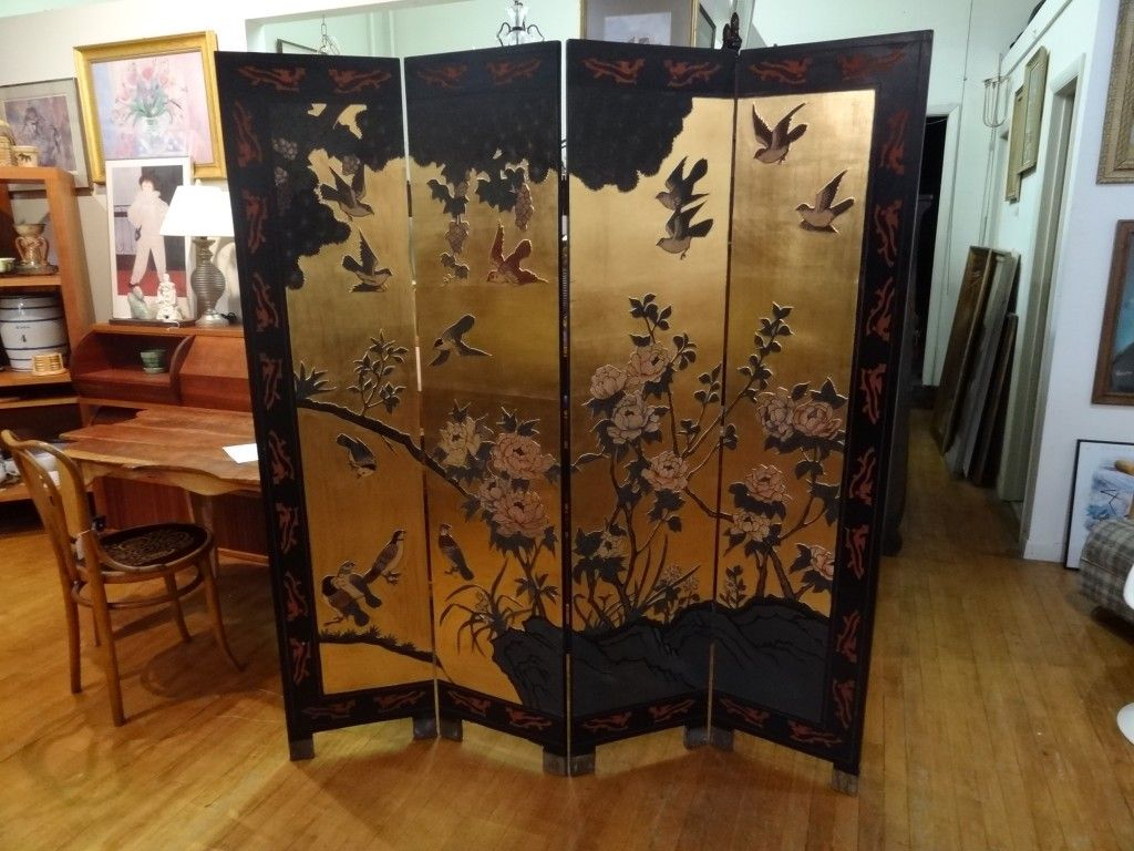 Asian Screen Room Divider Can Be Used As A Room Divider, Privacy Screen,  Window Covering, And A Lot More. This Room Divider Is A Beautiful Furniture  With