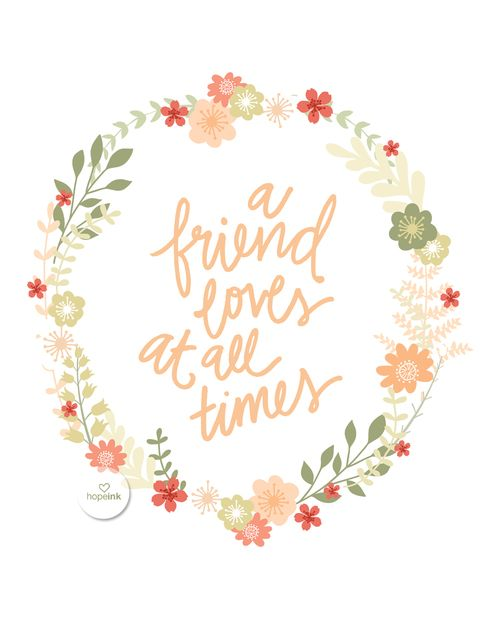 Bible Verse For A Freind: Verses About Friendship, Friends In Love