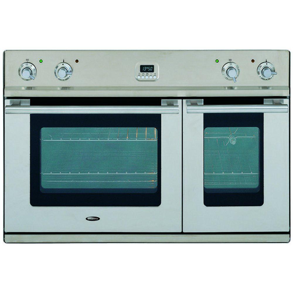 Uncategorized Britannia Kitchen Appliances britannia ovd900lmpss 90cm sigma built in double oven appliance city