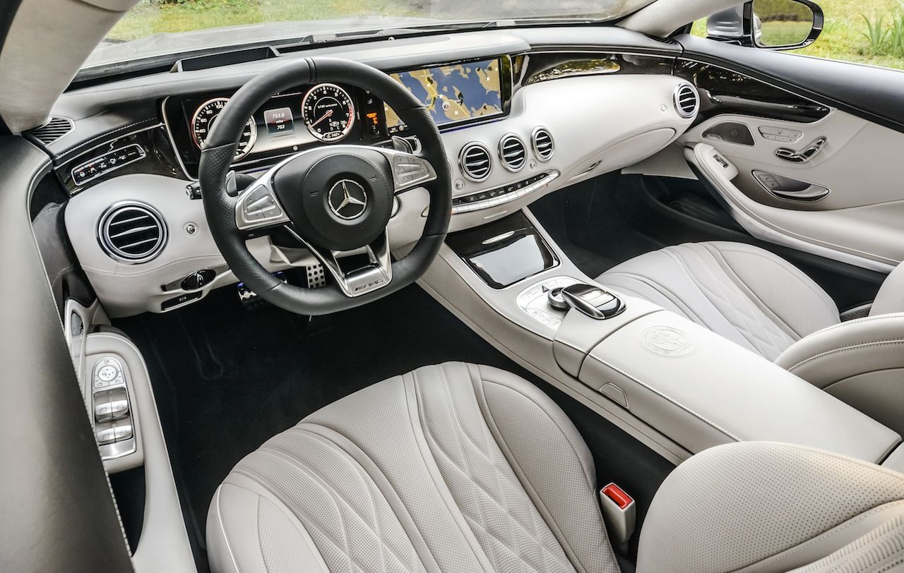 2015 Mercedes Benz S63 Amg Coupe Interior Front Online