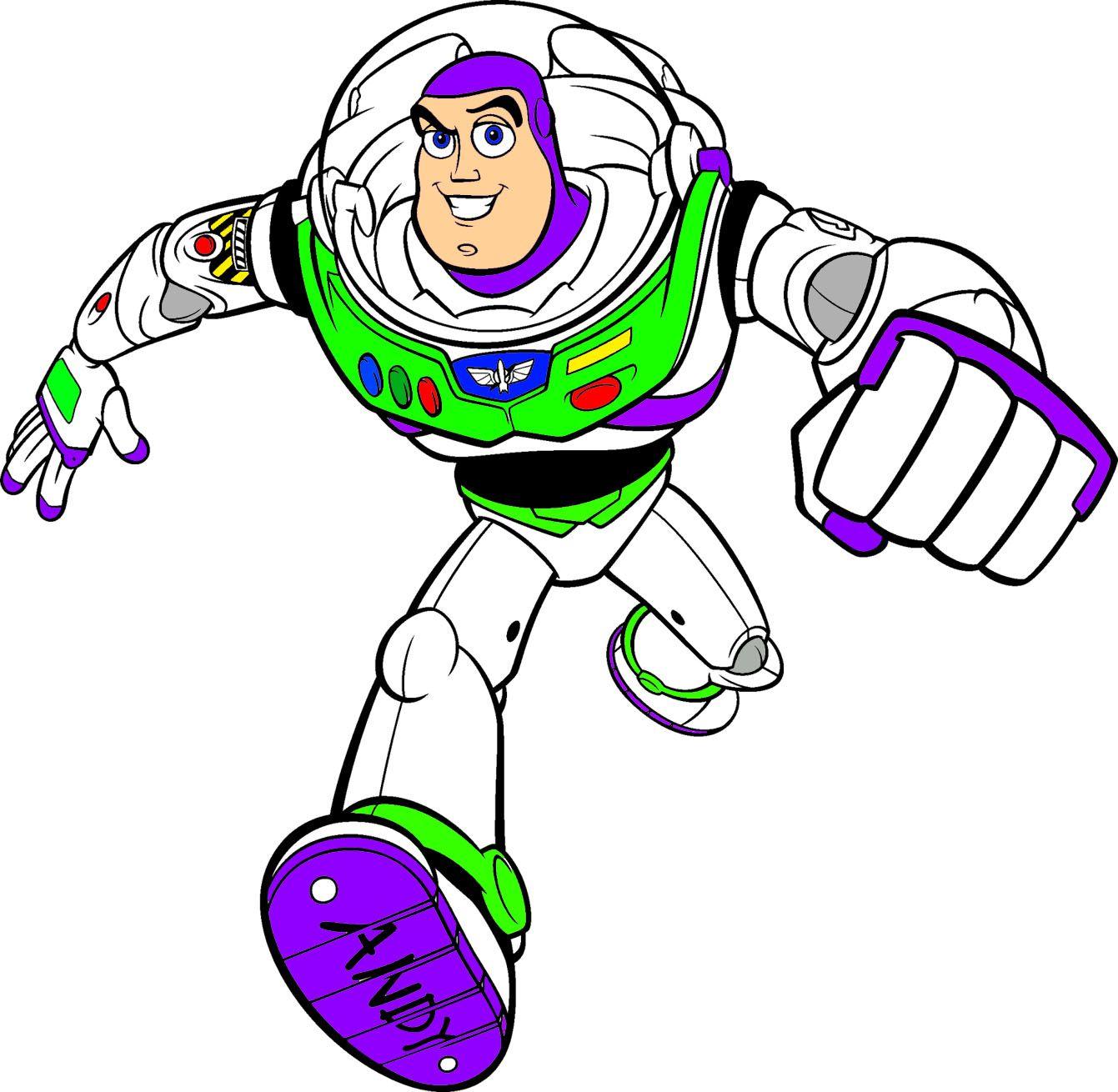 Buzz Lightyear Cumple Toy Story Dibujos Animados Pinturas Pequenas