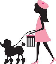 paris poodle clipart free clip art images cumple alison rh pinterest com french poodle clipart