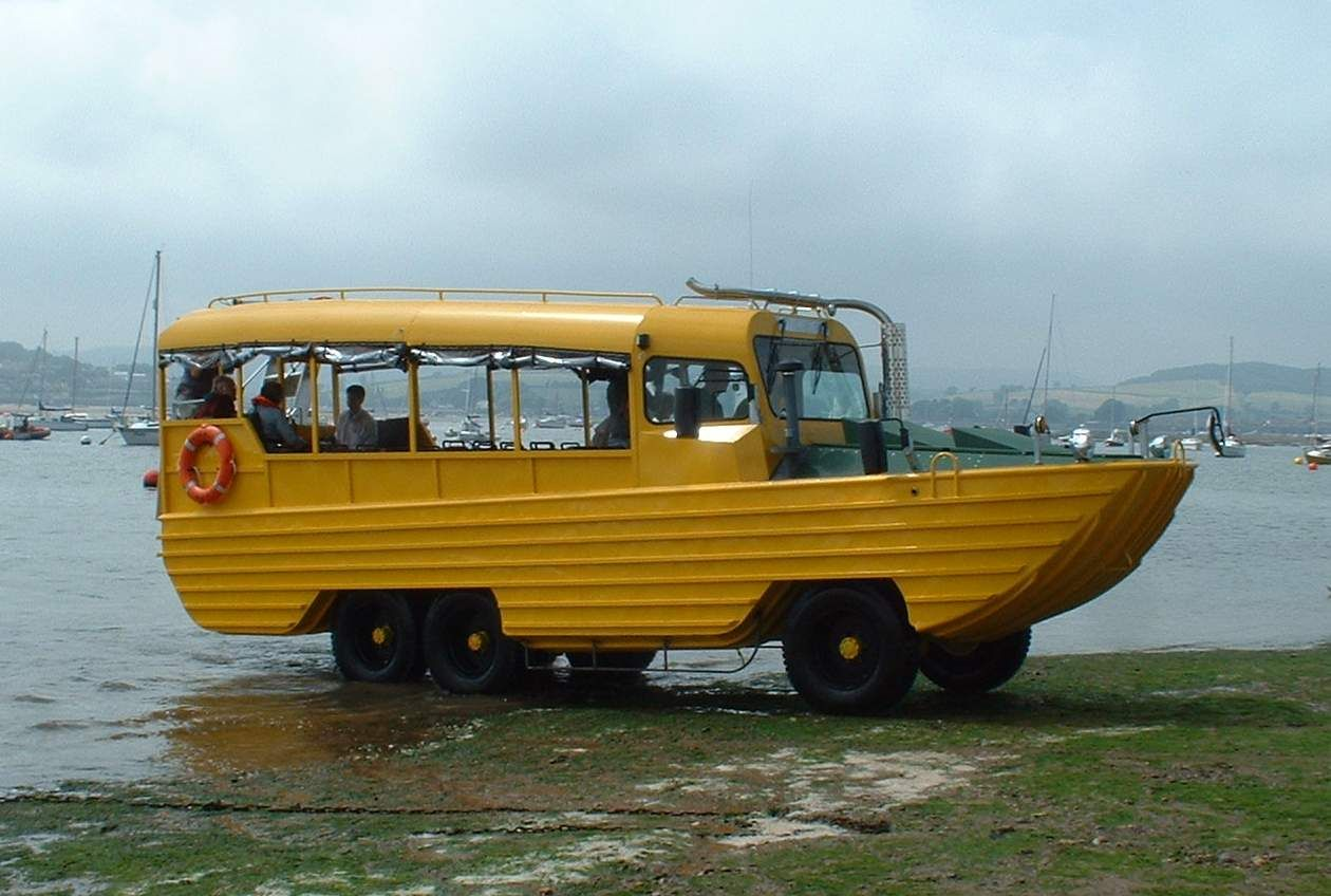 the UK client in the complete re-build of a DUKW ...
