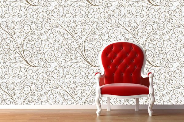 Reusable Wallpaper FABRIC Peel N Stick -Highest Quality