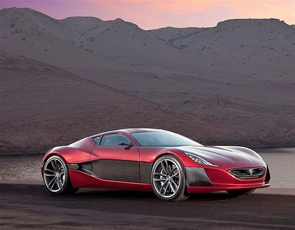 Pin On Cars As Art Rimac Automobili