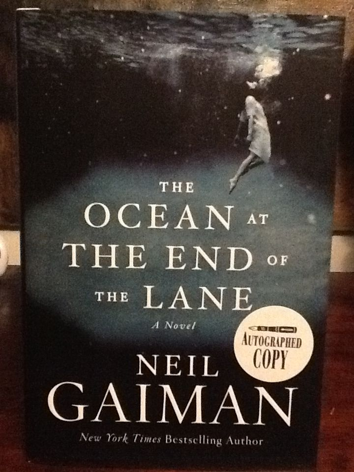 "Love books - The Ocean At The End Of The Lane by Neil Gaiman (Roddy Doyle wrote: ""I loved it. I thought the women - all of them -  were brilliant."")"