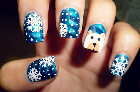 16 Cutest Christmas Nail Designs Top New Simple Trend For Winter