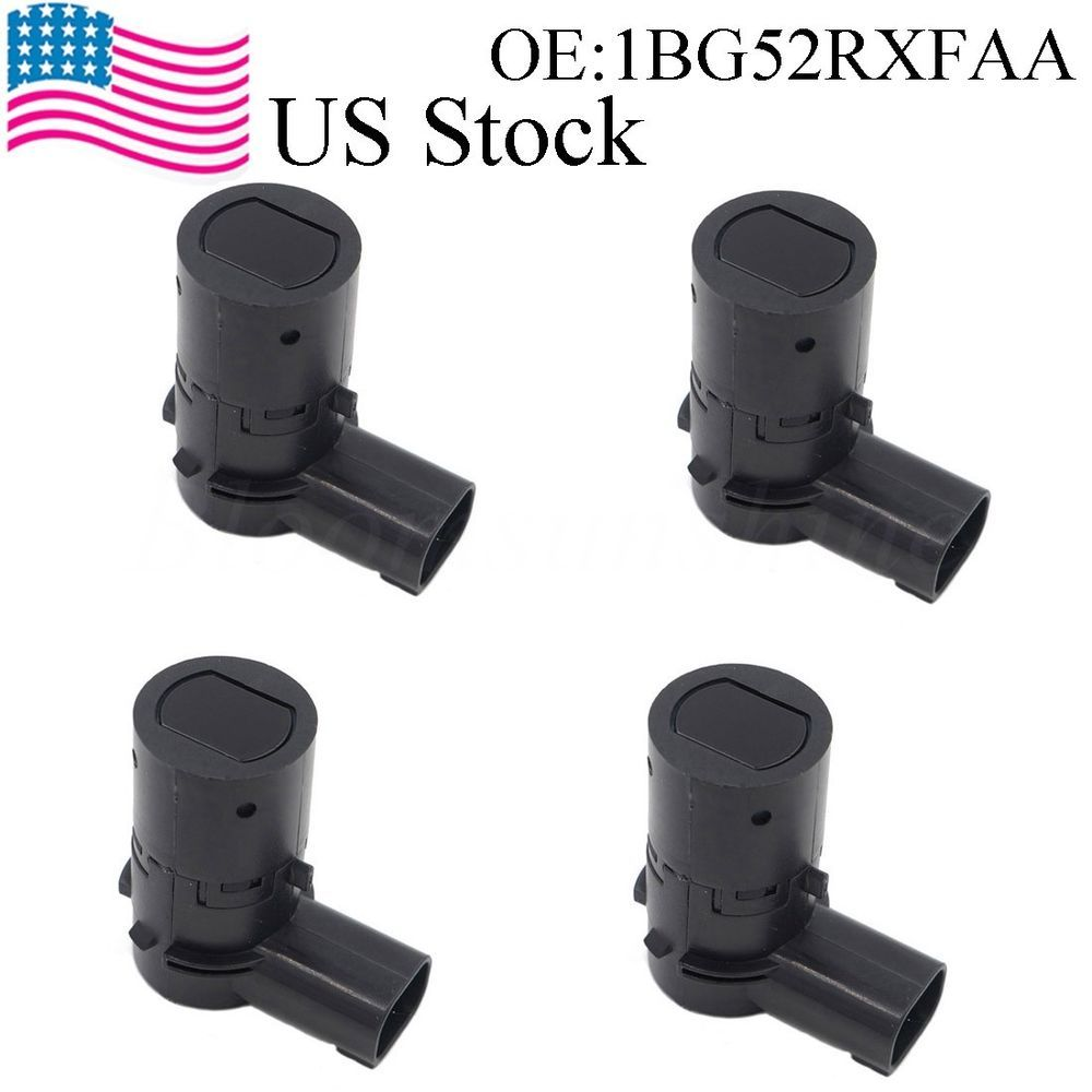 4pcs Pdc Parking Sensor For 2005 2008 Chrysler Town Country