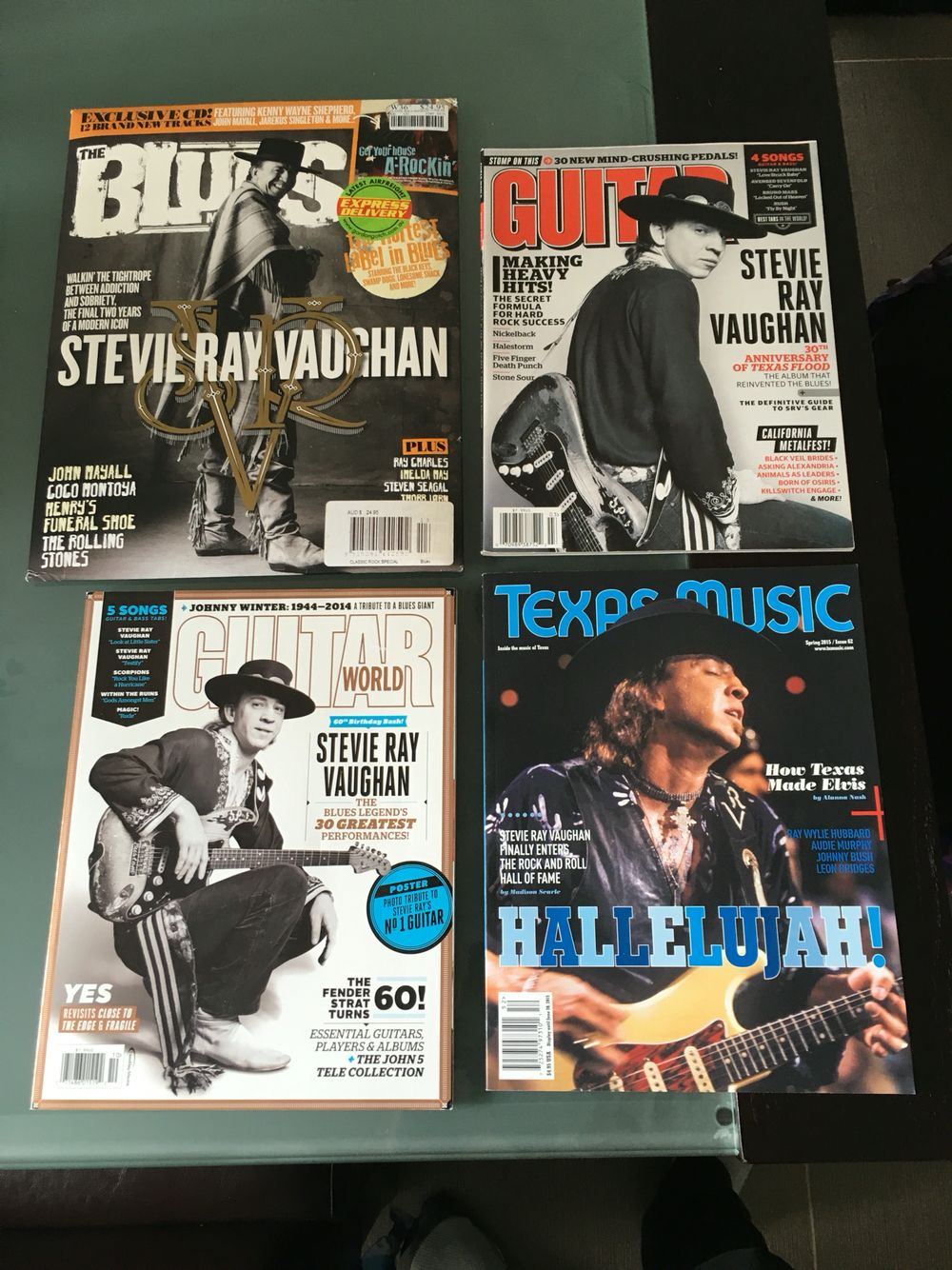 Stevie Ray Vaughan Magazine Cover Appearances Stevie Ray Vaughan Ray Vaughan Stevie Ray