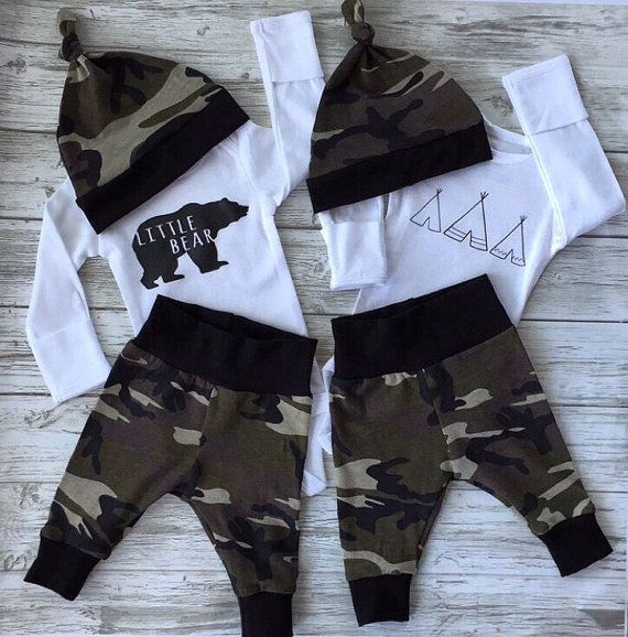 d7cfb4c10 Twin newborn outfits twin going home outfits twin by EatSleepDrool ...