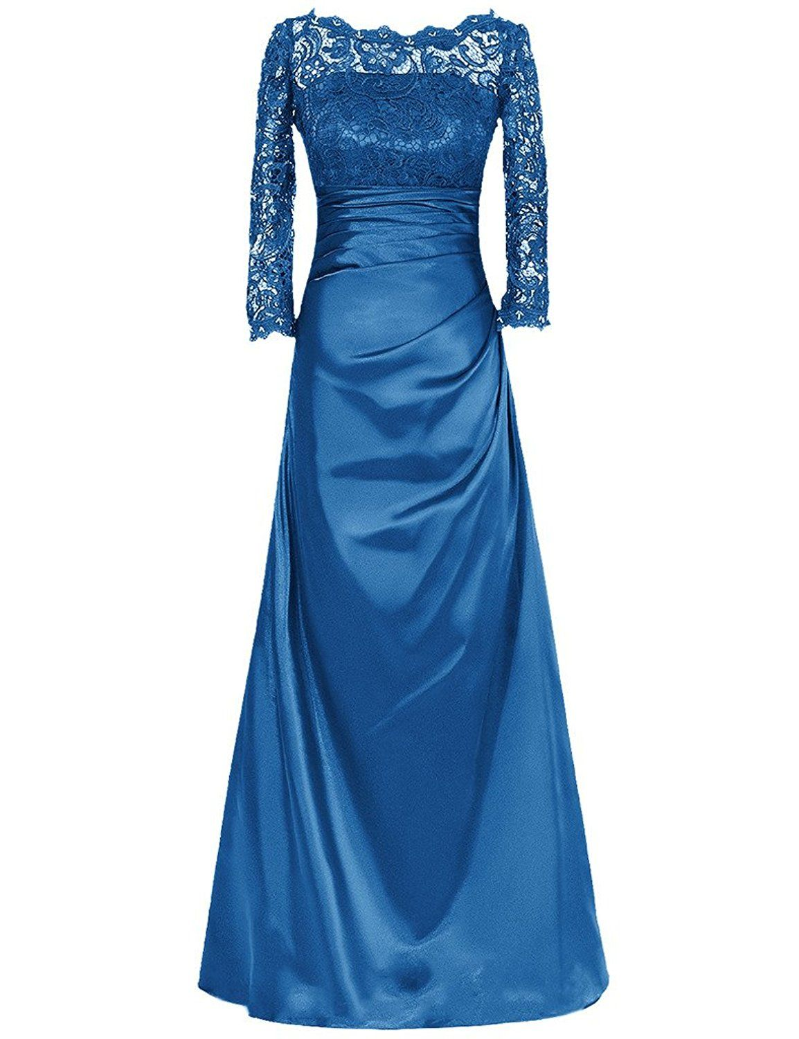 JAEDEN Women Mother of the Bride Dresses with Sleeves Lace Wedding ...