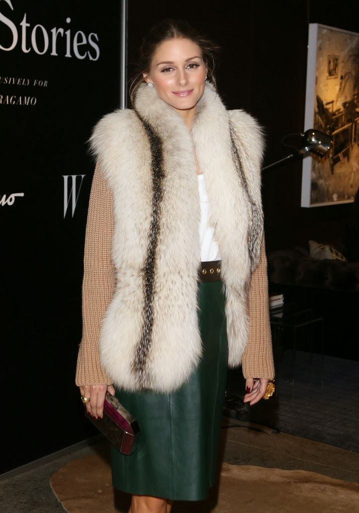 THE OLIVIA PALERMO LOOKBOOK: Olivia Palermo at Ferragamo Screening of Walking Stories in New York City.