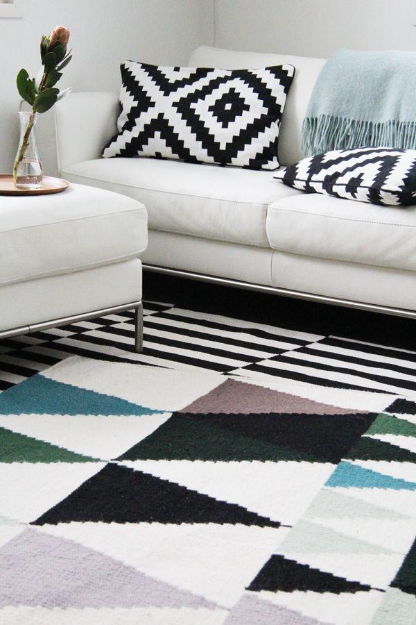 Inka-matto on ruotsalaisen Linda Sturessonin suunnittelema, käsinkudottu ja 100 % villaa.- Bambula