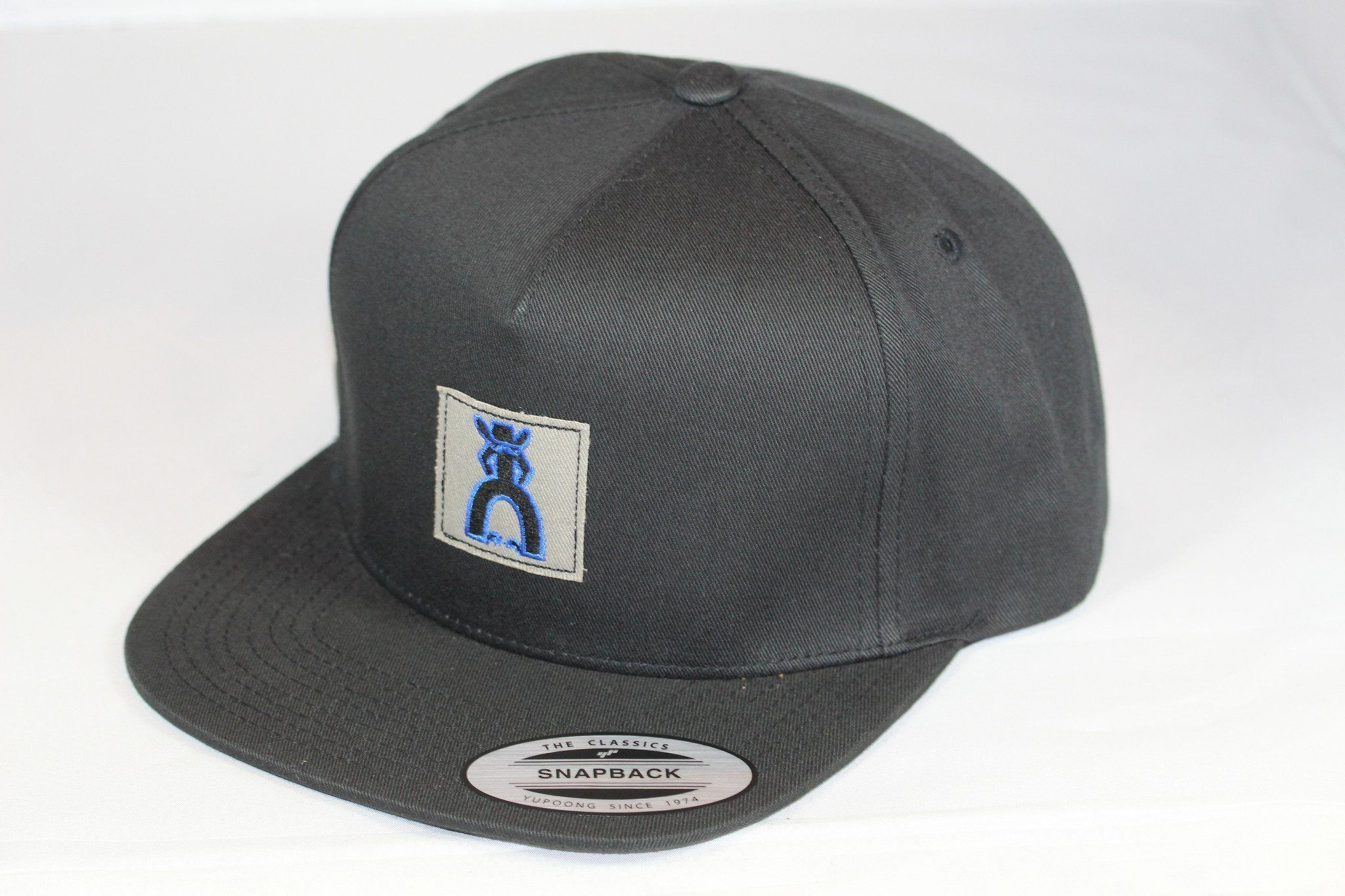 HOOEY Hat Punchy black and tan SnapBack 5011T-BK