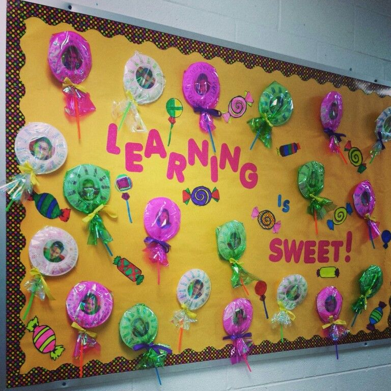 Candy Bulletin Boards on Cute Spring Bulletin Board Ideas