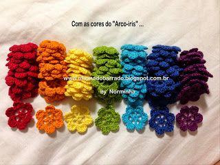 OFICINA DO BARRADO: Croche - Outro projeto ...