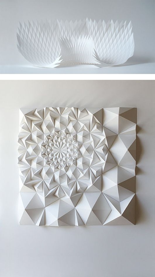 10+ images about Paper Sculptures on Pinterest | Organic form ...