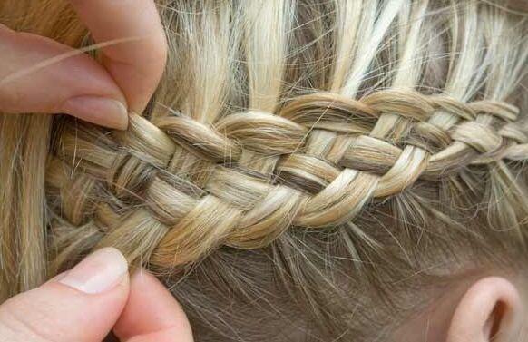 Dutch braid -- I want to learn