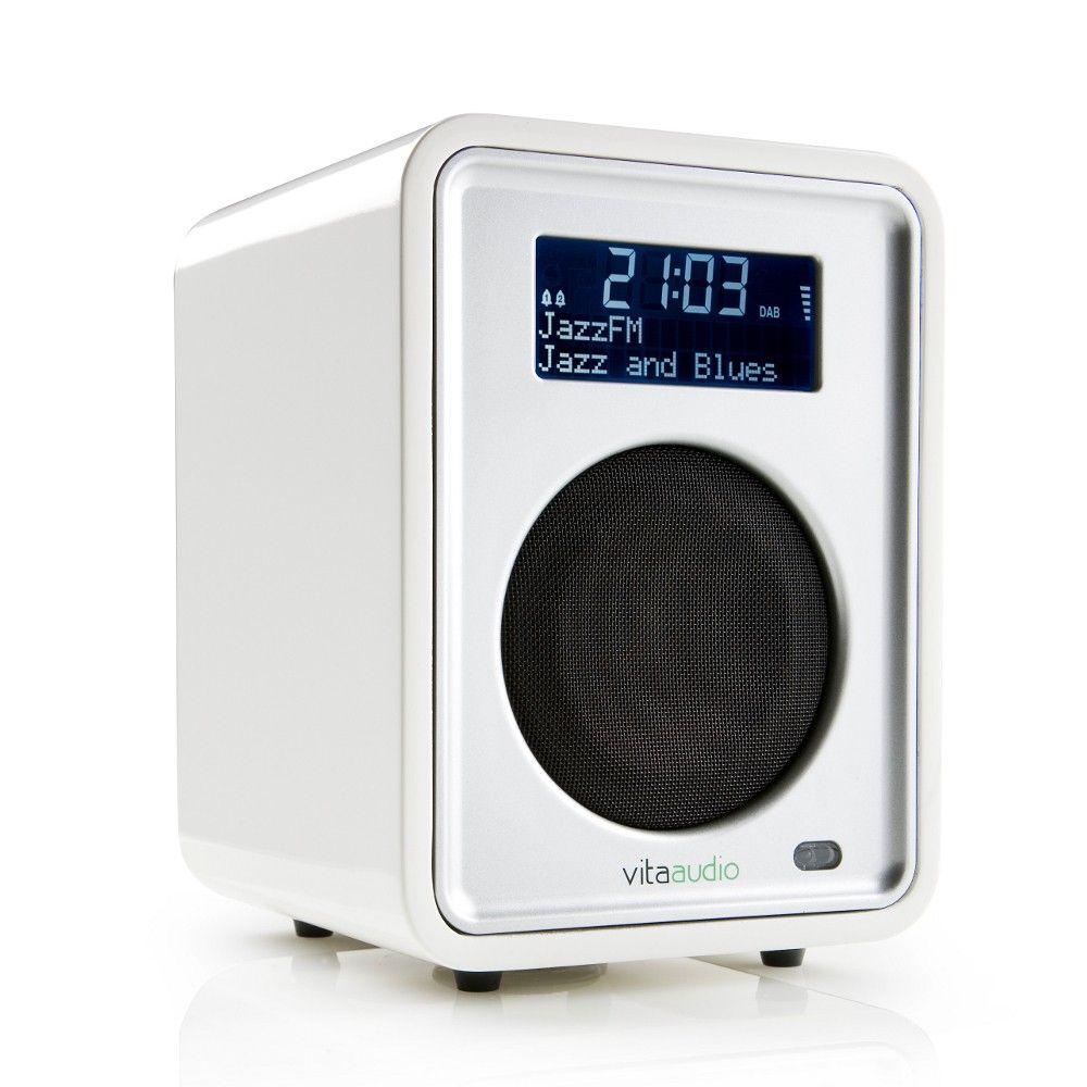 Ruark Audio R1 Deluxe Tabletop Radio Dream White Gloss