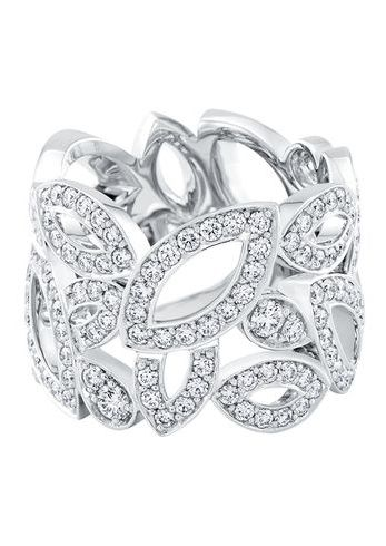 Lily Cluster by Harry Winston | Diamond Band Ring | Harry Winston