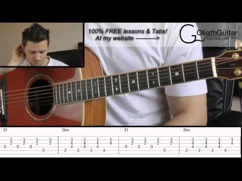 Hey There Delilah Plain White Ts Guitar Lesson Tabs Youtube