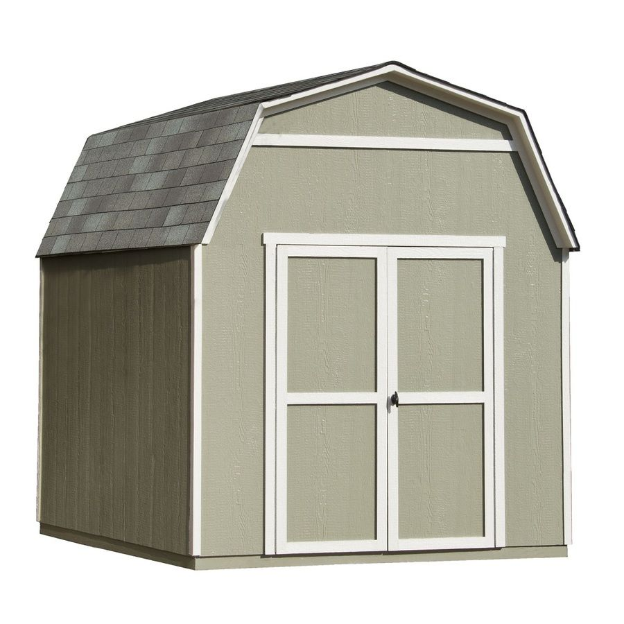 Shop Heartland Ridgeview Gambrel Wood Storage Shed (Common: 8 Ft X 10