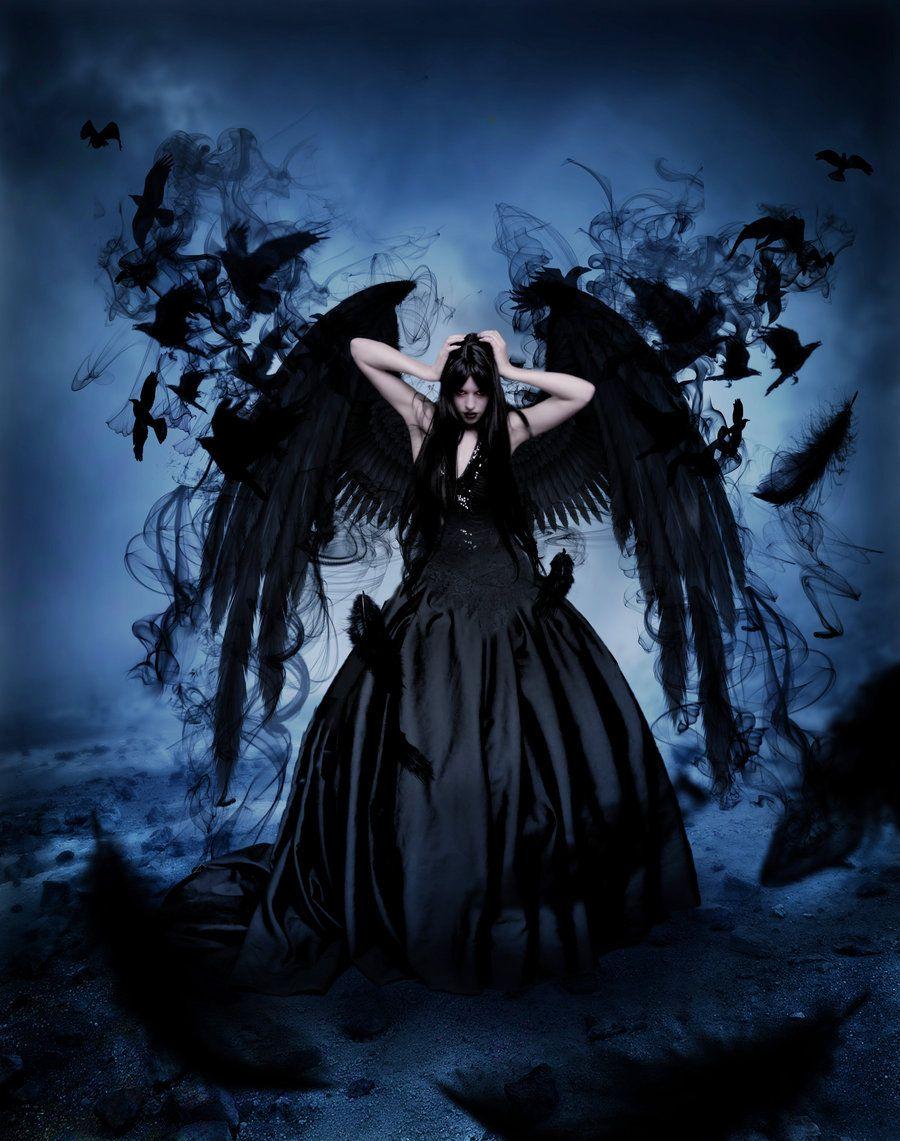 Raven Queen Angels & Demons Ravens And Deviantart