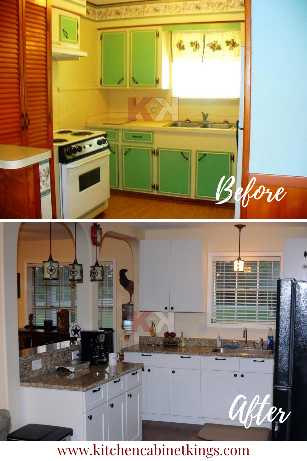 Kitchen S Before And After Renovation In 2020 Kitchen Cabinet Remodel Before After Kitchen Cabinet Remodel