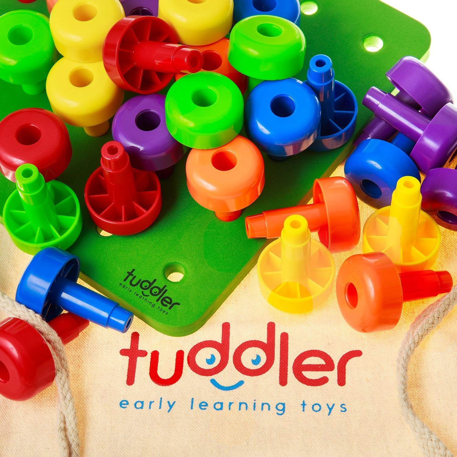 Educational Montessori Educational Toy Brightly Colored ...