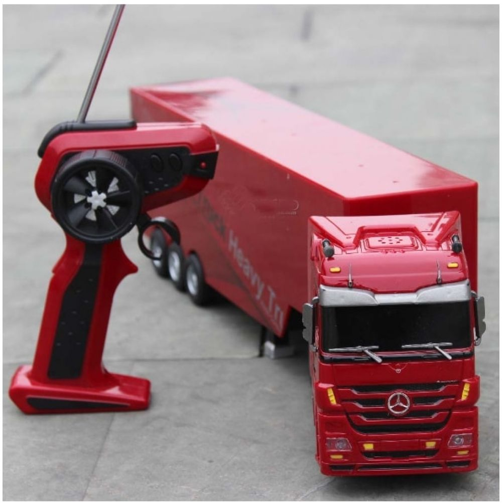 Remote Control Truck Kids Electric Toy Car Big Rc Container Truck