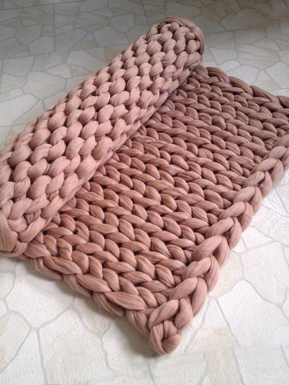 Chunky Knit Blanket Merino Wool Yarn Blanket Knit Blanket Etsy Knitted Blankets Knitted Throws Chunky Blanket
