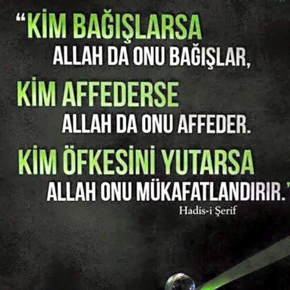 Dini Yazili Resimler Resimli Yazilar Kuaza Good Sentences Hadeeth Allah Quotes
