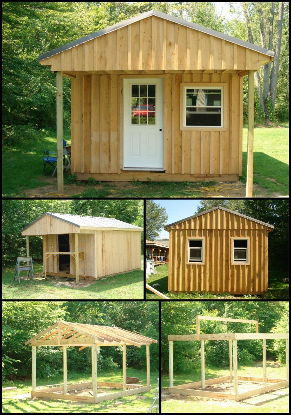 how to build a backyard cabin http theownerbuildernetwork co