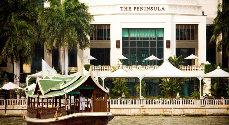 Bangkok Thailand Peninsula Hotel