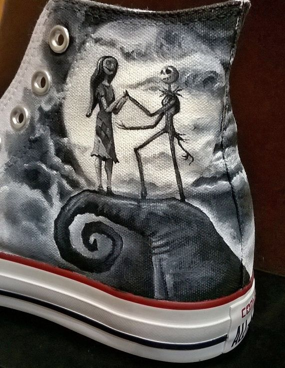 42b0904aac82d Nightmare before Christmas hand painted by christinaPcreations ...