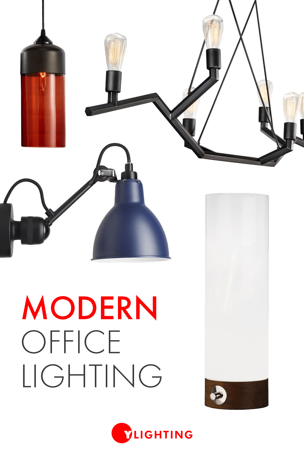 Office Lighting Comes In The Form Of Task Lighting Ambient Lighting And Accent Lighting From Modern D In 2020