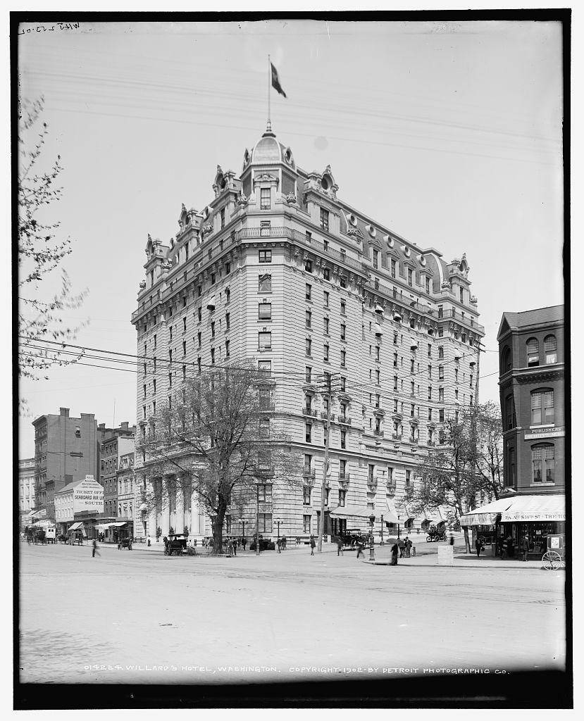 Willard's Hotel, Washington Photographer William Henry
