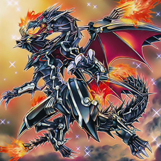 Red Eyes Flare Metal Dragon Yugioh Dragons Yugioh Monsters Anime