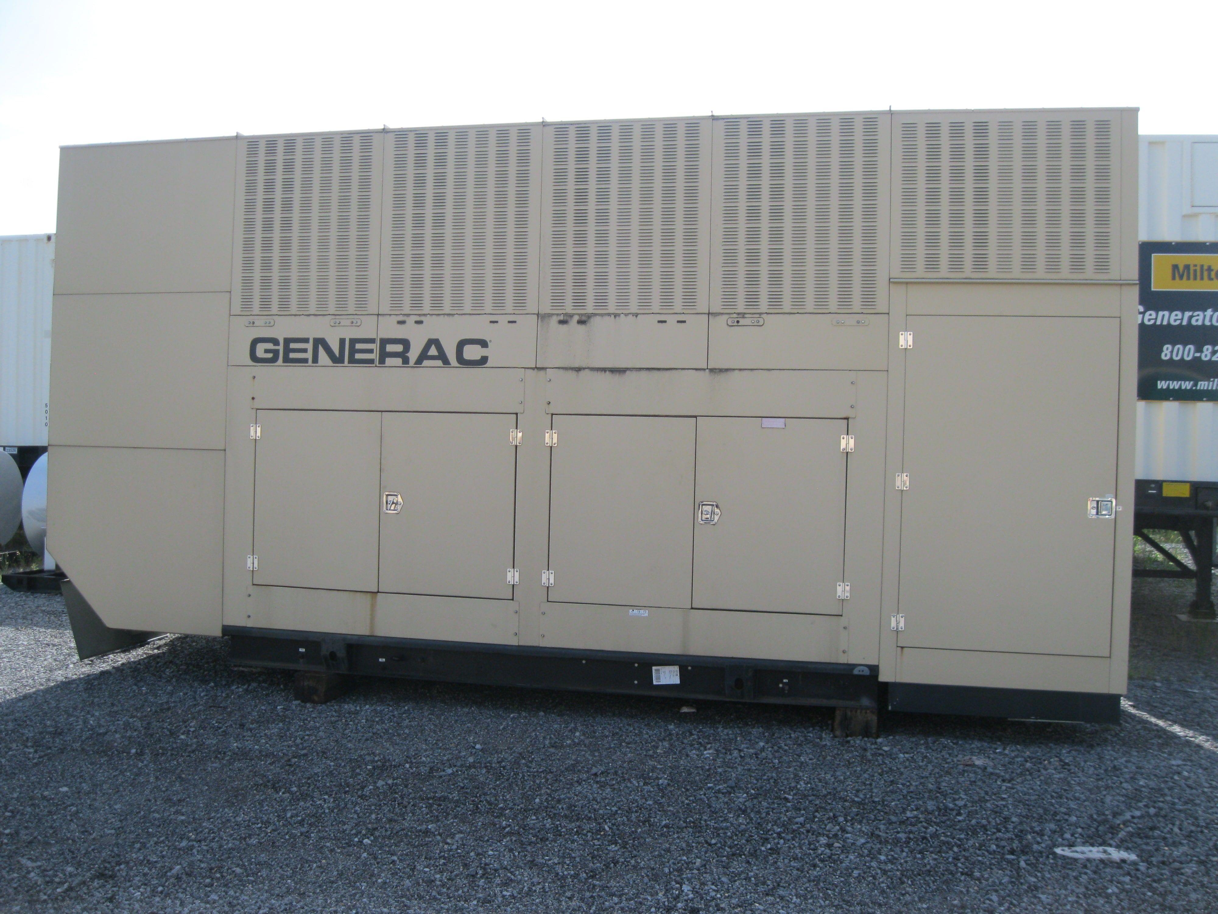 1000 Kw Generac Diesel Generator Tier 2 Rated 2750 Gallon Base Tank Woodstock Power Company Diesel Generators Locker Storage Generation