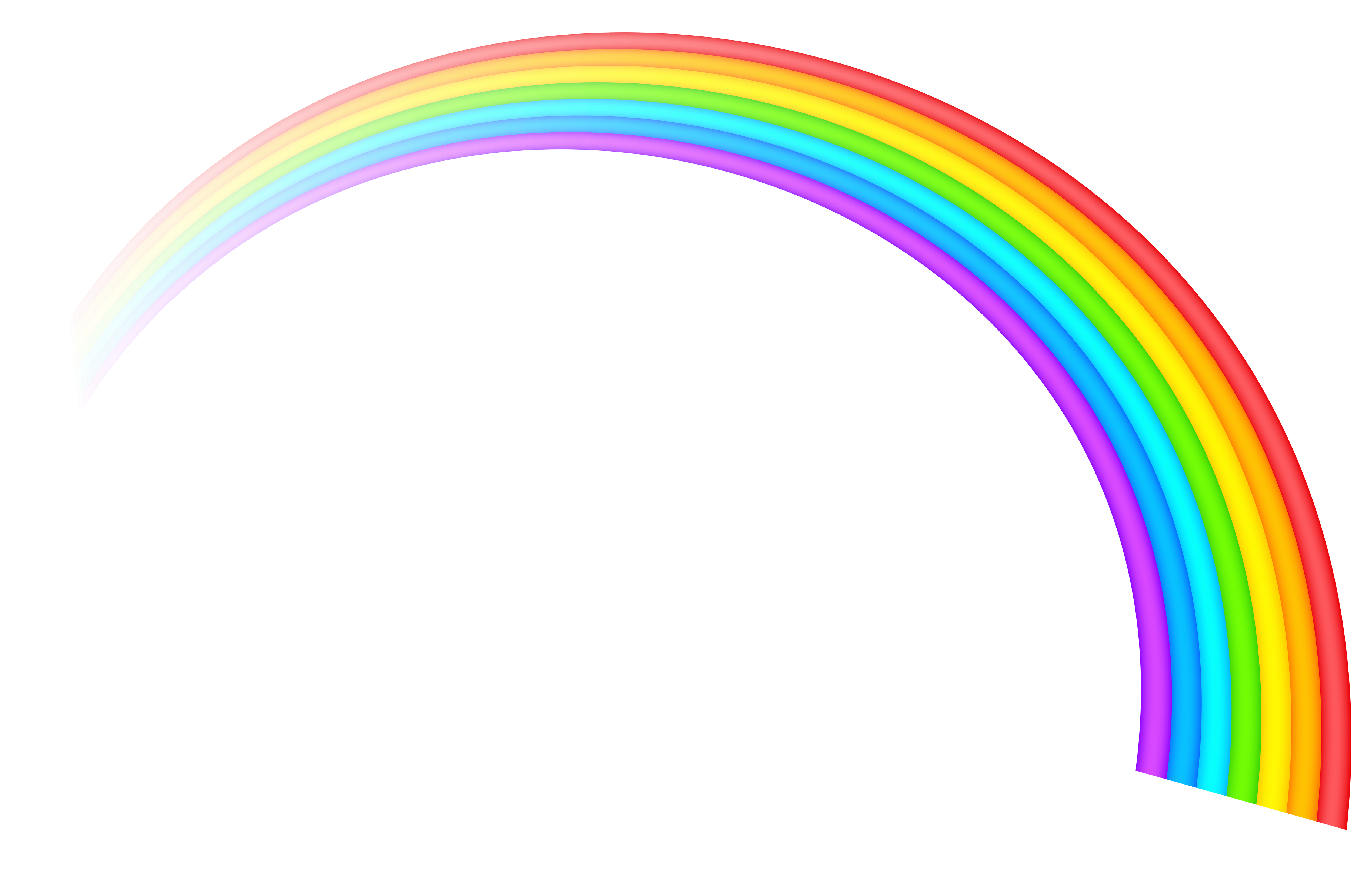 Rainbow Transparent Clipart Picture With Images Rainbow