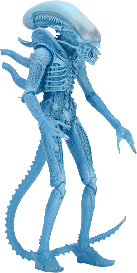 "NECA Aliens Series 2 Xenomorph Warrior Alien 9/"" Figure NEW OLD STOCK"