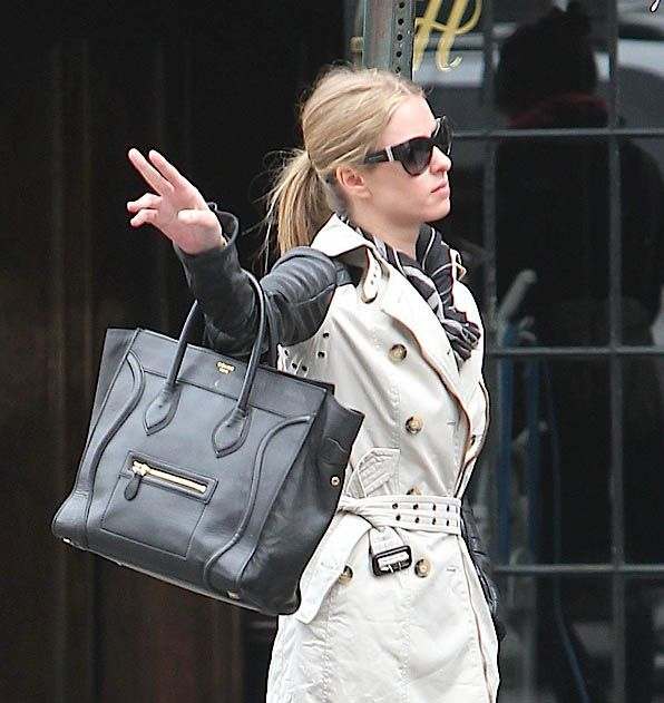 Celebrities and their Celine Luggage Totes: A Retrospective, Nicky ...