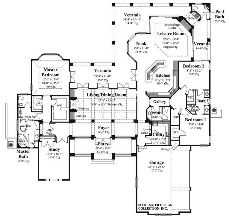 Shiloh House Plan Mediterranean Style House Plans House Plans Mediterranean Homes