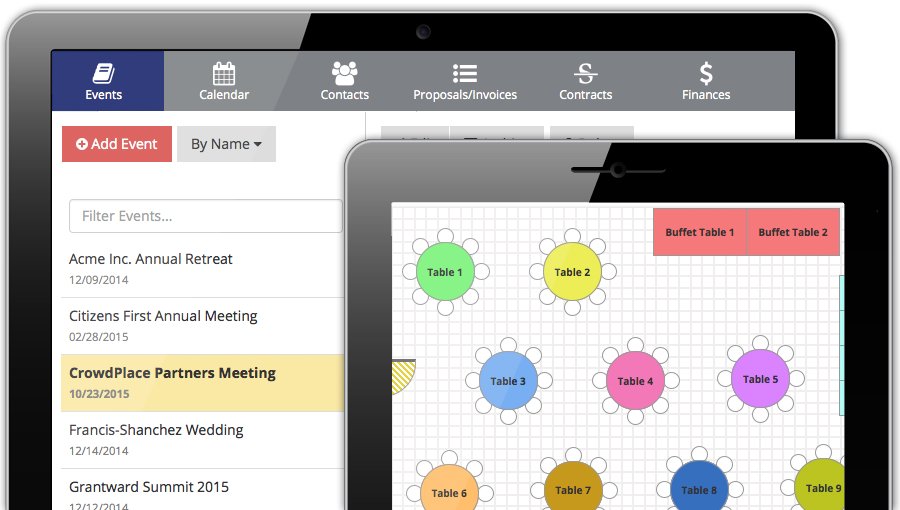 Event planning. Simplified. Streamline how you manage your